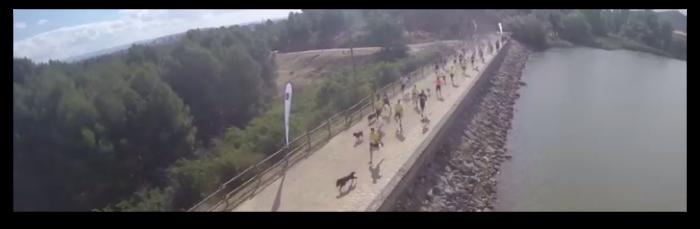 Vídeo en HD 2ª carrera del Circuito CANICROSS Logroño Ciudad Europea del Deporte 2014