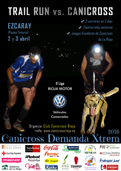 Inscripcion Rockthesport Canicross Demanda Xtrem